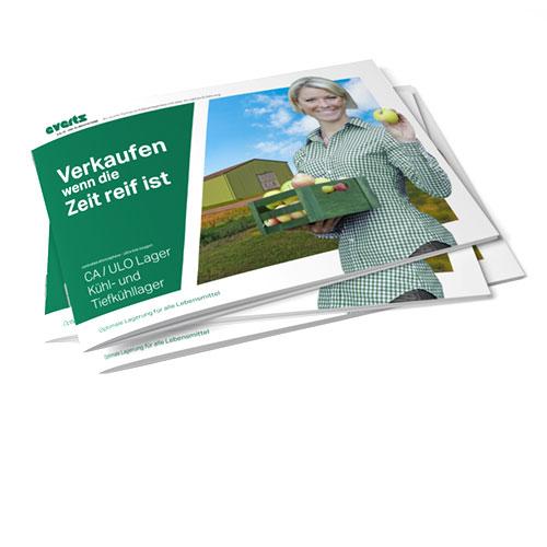 Everts Kältetechnik Kühl- und Tiefkühllager CA / ULO Lager Broschüre
